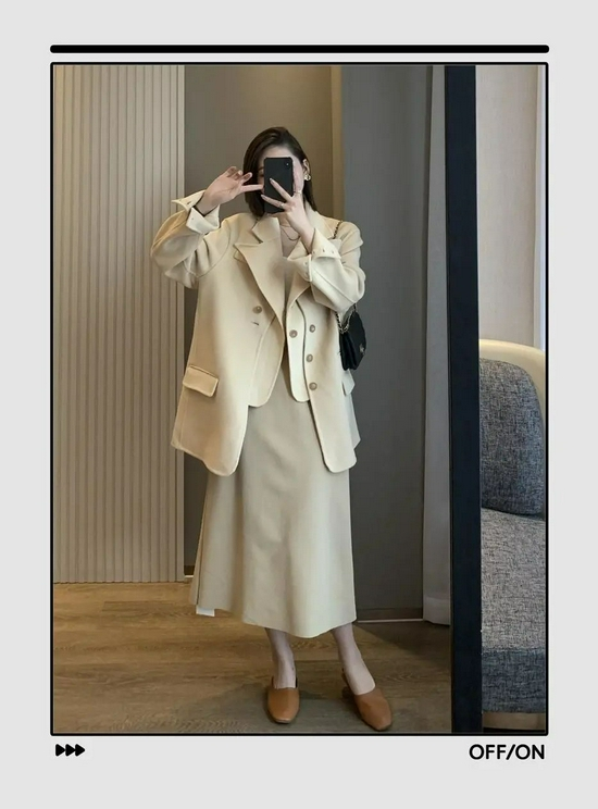 11套好看又吸睛的穿搭,都帮你准备好了  薄外套+裙子!