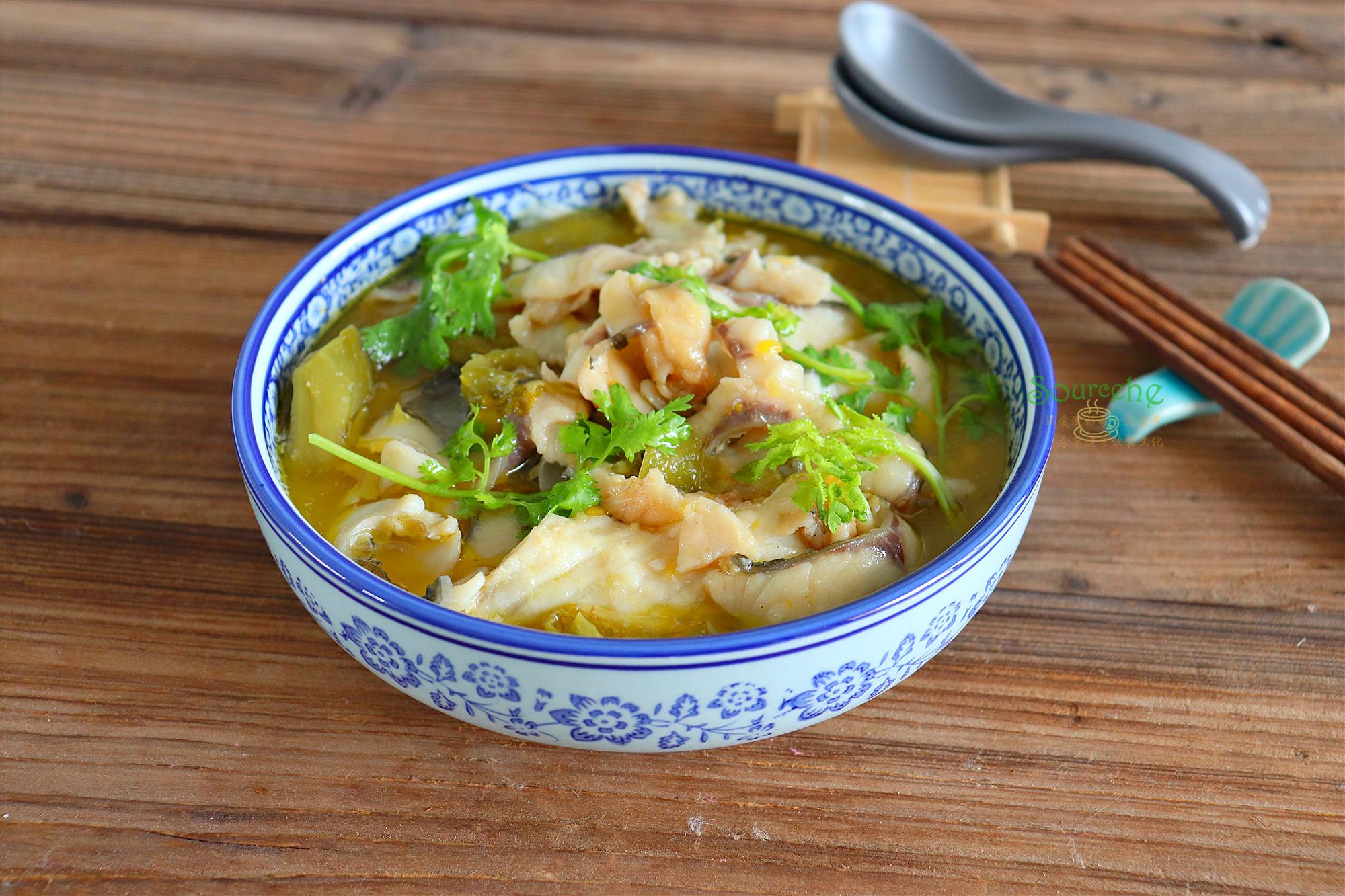 一条皖鱼,一包调料,8分钟煮一锅  酸菜鱼原来可以这么简单!