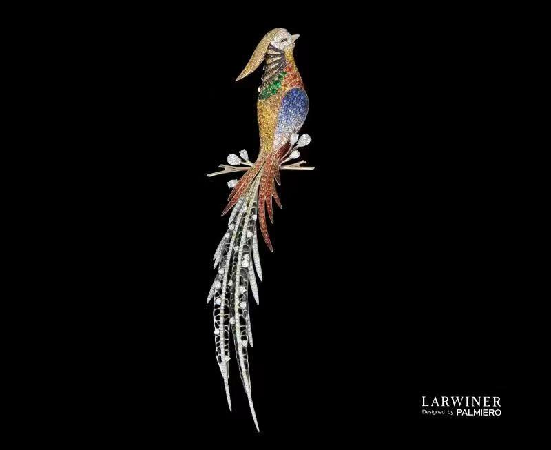 LARWINER拉威儿艺术珠宝为消博会惊艳呈现国际珠宝艺术大师CARLO PARMIERO联名作品