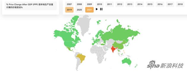 2007年推出以来 iPhone的价格在全球范围内上涨了80%以上