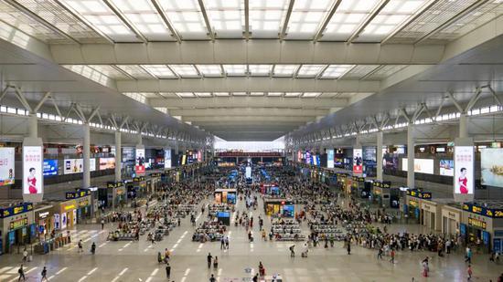 长三角铁路国庆假日预计发送旅客2222万