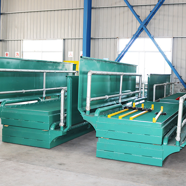 工程洗轮机基础制作图-环保新能源设备