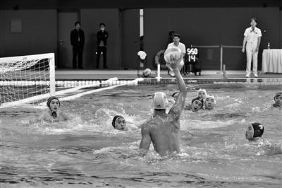 全国男子水球冠军赛开赛  西安奥体中心迎首场赛事