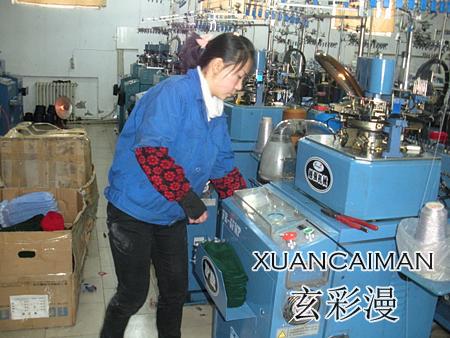 玄彩漫袜子机,小产业走入千家万户