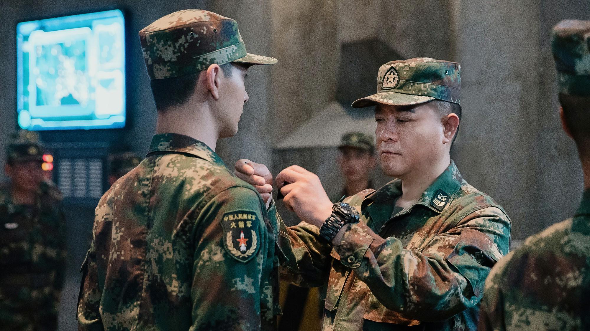 姜彤《号手就位》正在热播 陈浩峰角色丰满展现火箭军精神