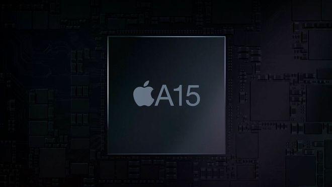 峰值能力比A14快13.7% 苹果A15芯片用在iPhone 13