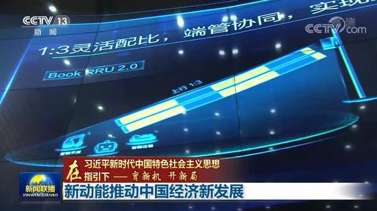 央视网消息:新动能推动中国经济新发展