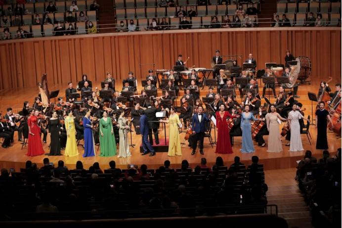 《山海的交响》激荡国家大剧院 福建省歌舞剧院艺术周演出震撼