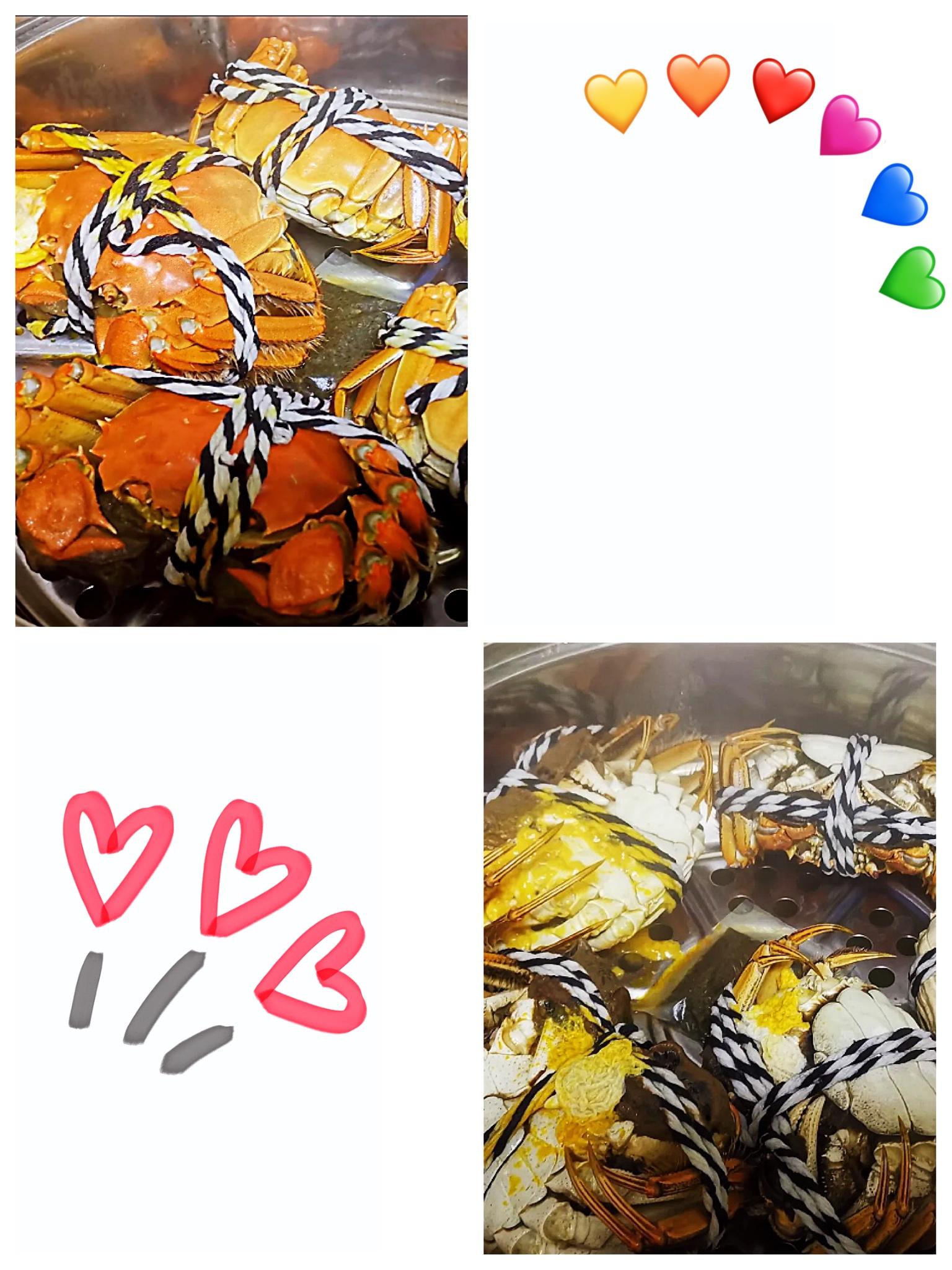 阳澄湖原住蟹农的大闸蟹,蟹肉是甜的