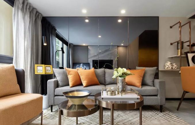 这套116平米的三居室,最后还是选定现代风格