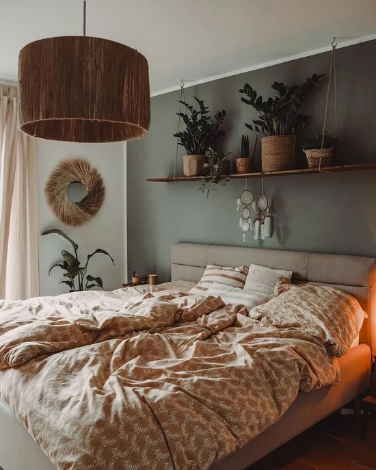 处处散发着舒适感  仿佛是雨后森林的家