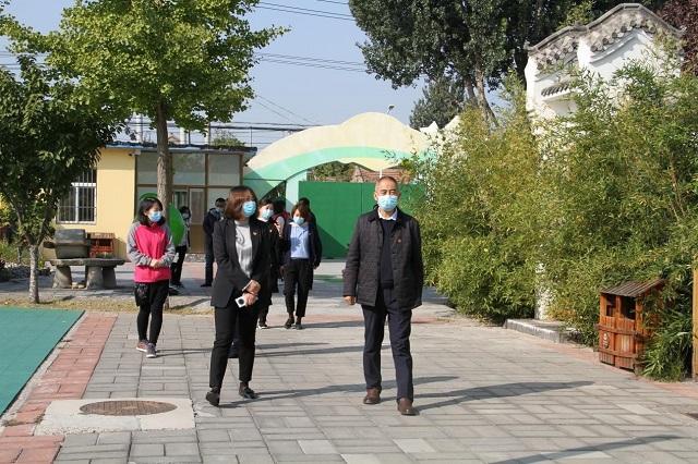 通州区幼儿园党支部书记工作室走进西集中心幼儿园