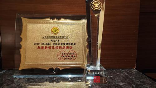 """中国营销盛典聚焦数字化革新 天九共享以科技创新荣获""""年度营销创新奖"""""""