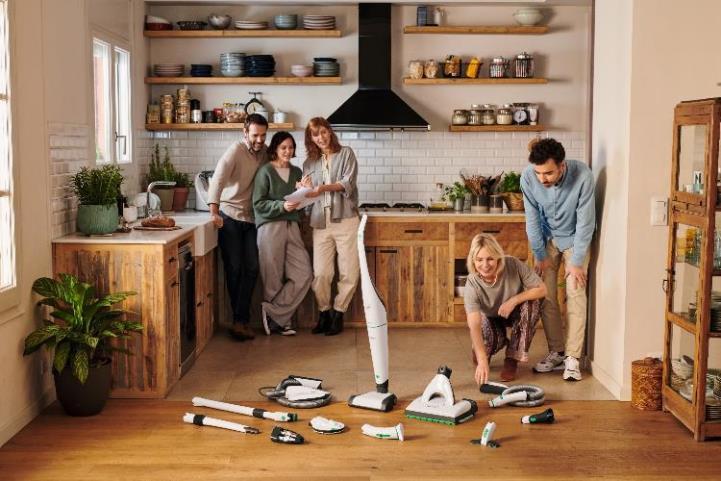 福维克可宝VB100无线清洁系统岁末感恩回馈 为您的新年家居焕新礼单加持