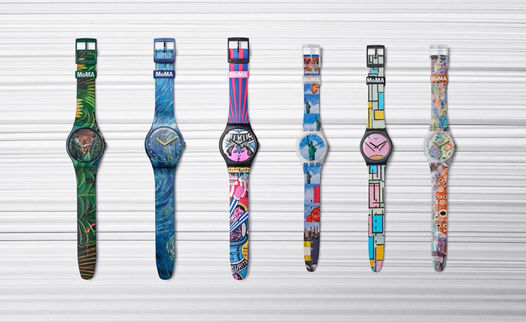 向現代藝術致敬,彰顯誠意之作——瑞士斯沃琪攜手MoMA推出特別款腕表系列